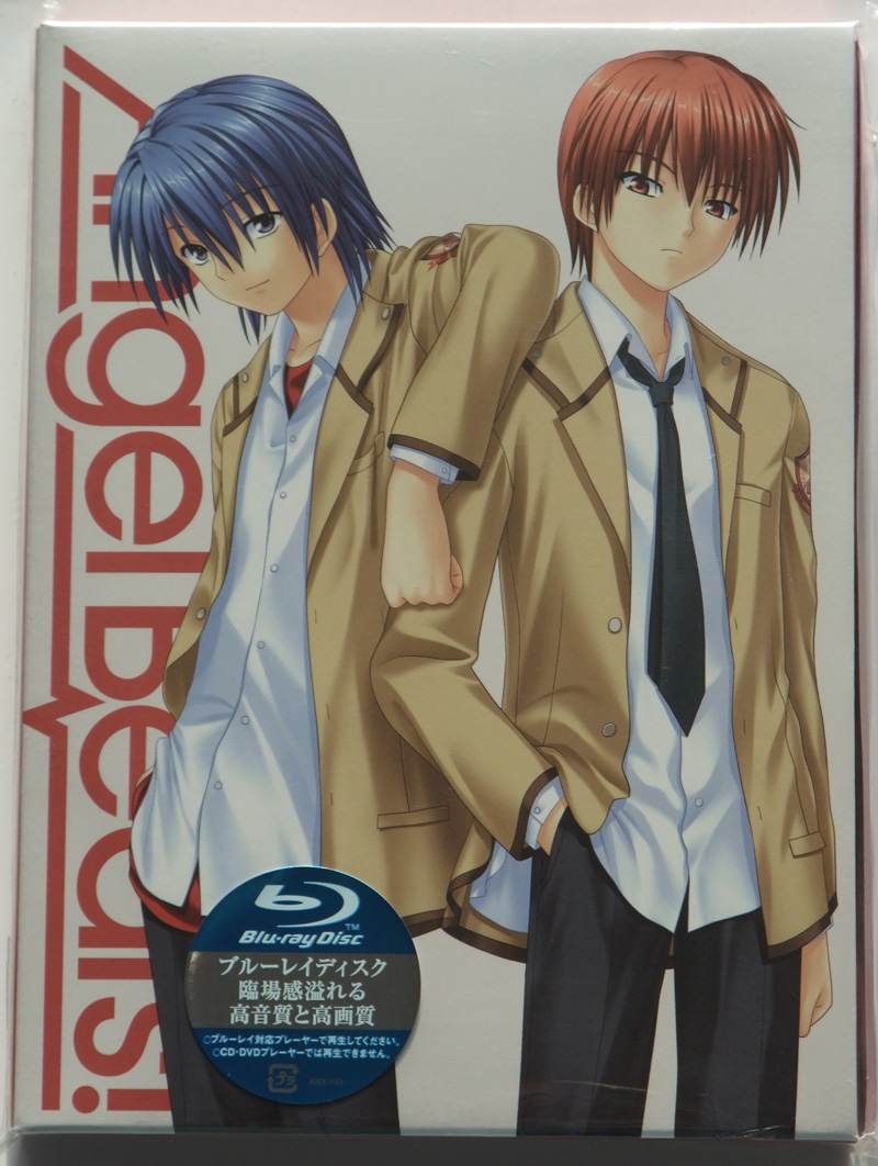 Angel Beats Vol 3 Limited Edition First Look Blu Ray Japan