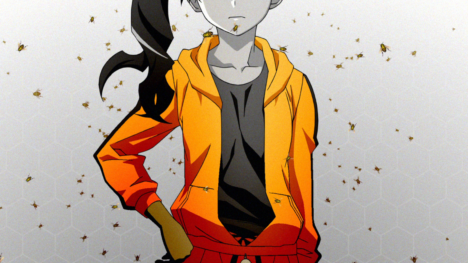 Nisemonogatari Karen Wallpaper Cd-japan-link