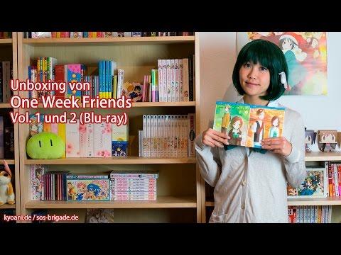 Unboxing von One Week Friends – Vol. 1&2 (deutsche Blu-rays)