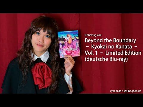 Unboxing / Verlosung von Beyond the Boundary – Kyōkai no Kanata – Vol. 1 – LE (dt. Blu-ray)