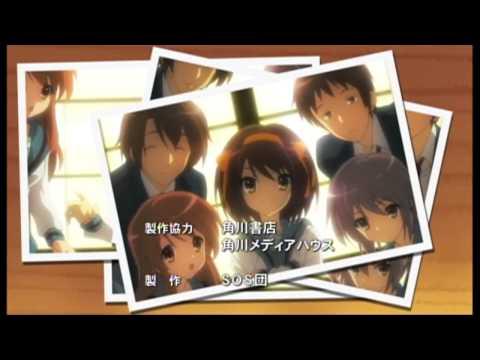 """Suzumiya haruhi no yuutsu NewED """"Tomare!"""" 【HD】"""
