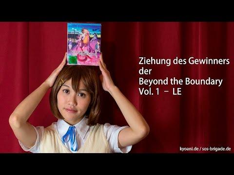 Ziehung des Gewinners der Beyond the Boundary Vol. 1 – LE