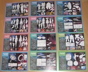 Kärtchen mit Vergleichen zwischen den OVAs