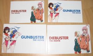Gunbuster / Diebuster Blu-Ray vs. DVD - Vergleich