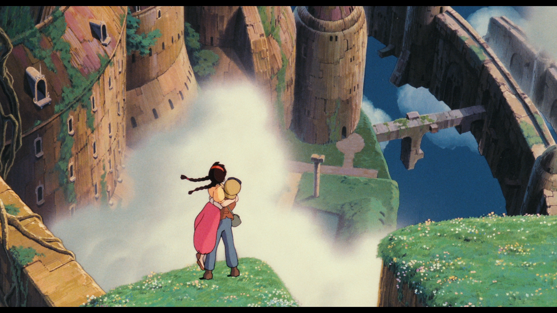 Laputa Das Schloss Im Himmel