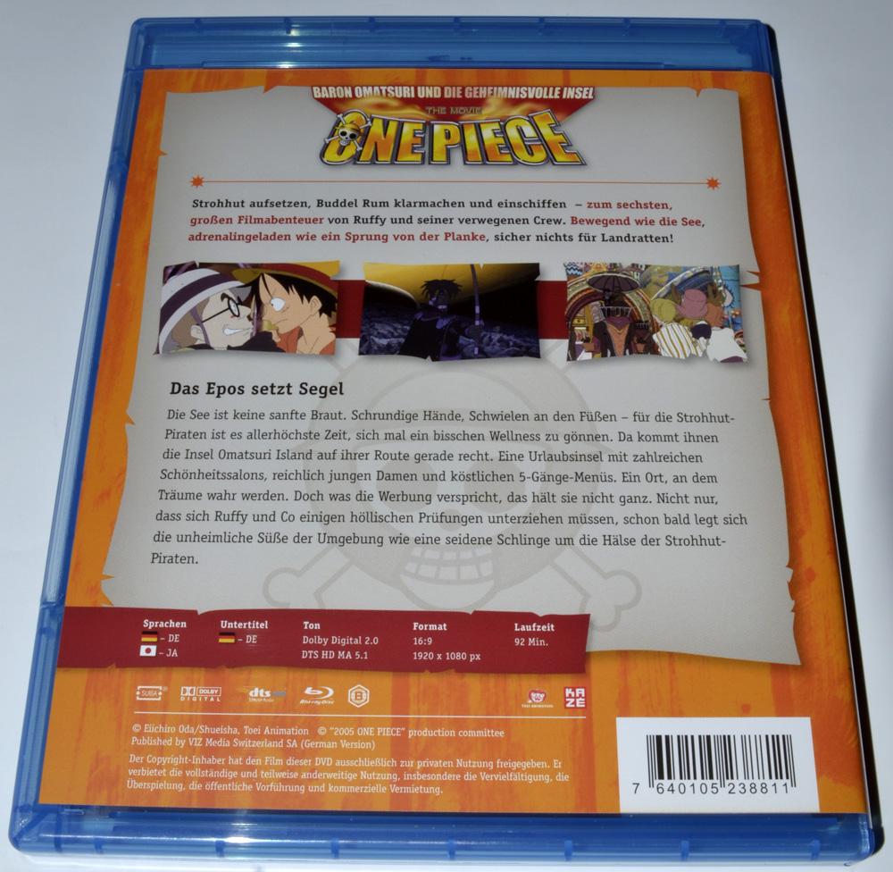One Piece – Baron Omatsuri und die geheimnisvolle Insel (Review, Blu ...